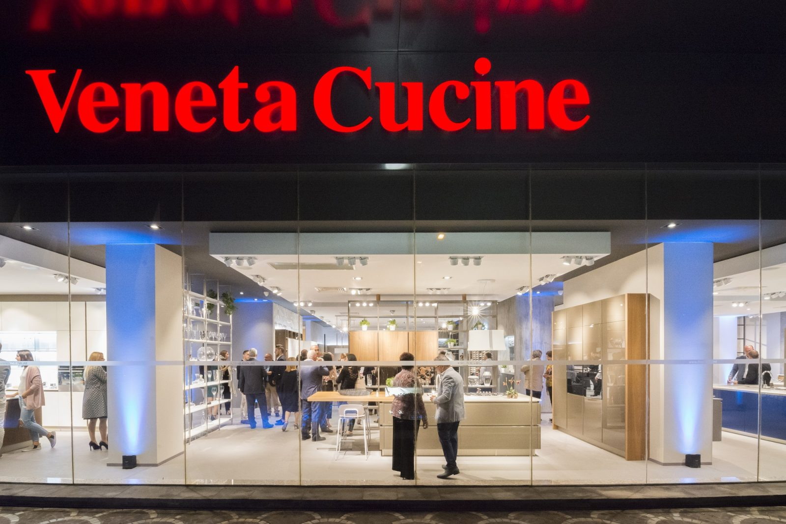 New Veneta Cucine Showroom | HOMEWORKS