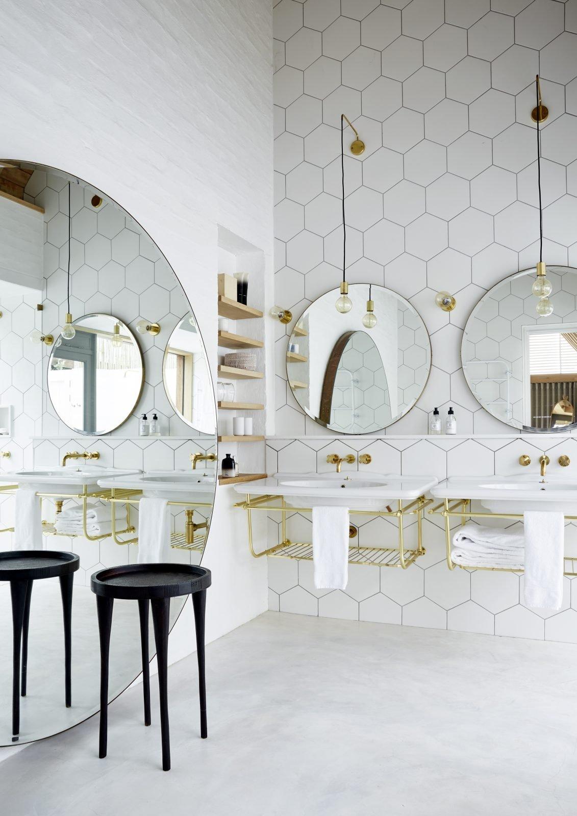 Bathroom mirror - Divine Inspiration