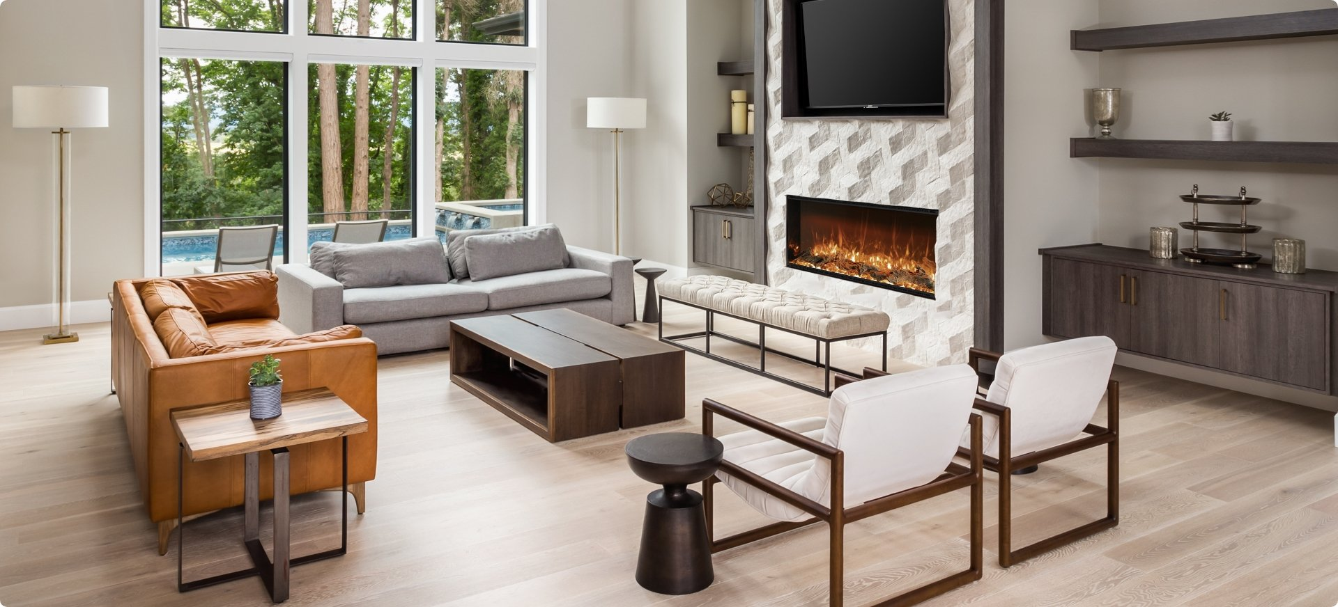 Astro Electric Fireplace