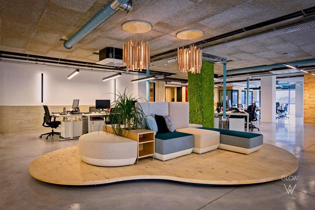Catena Media offices - Lighting
