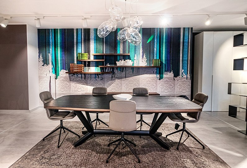 Cattelan Italia Dining Table and Chairs