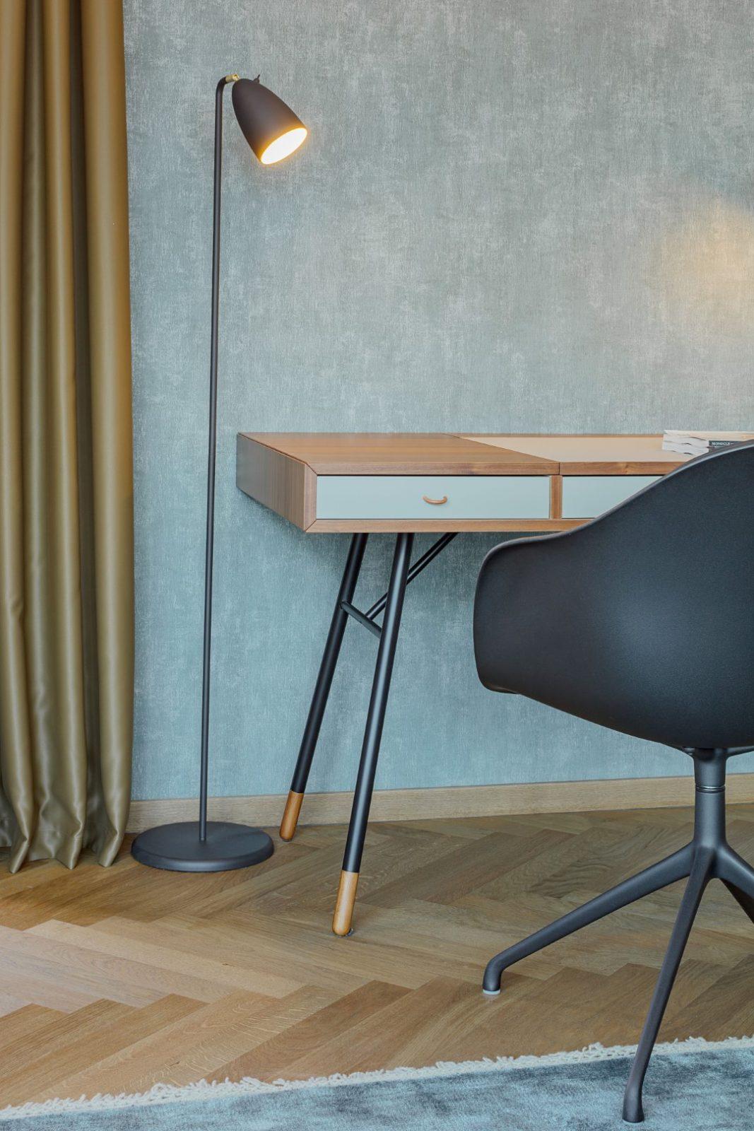 Cupertino home office desk