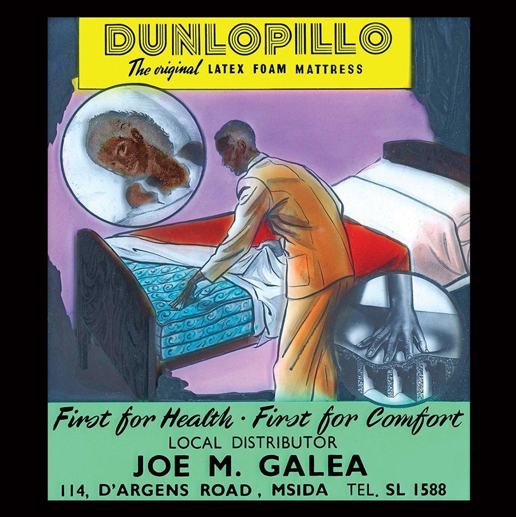 Dunlopillo advert 1 - Form Story
