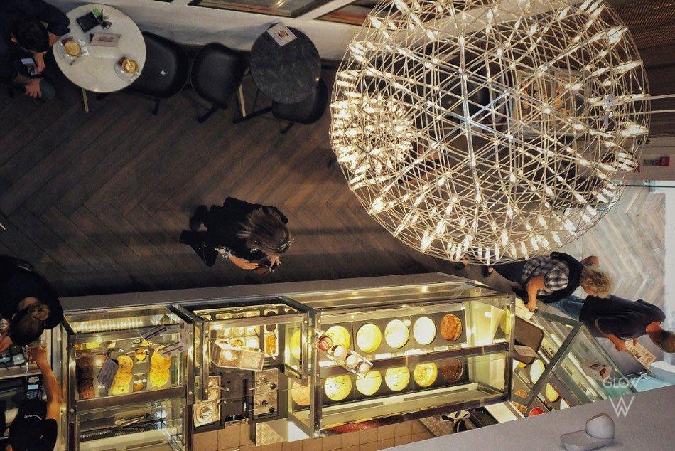Commercial premises - Haagen-Dazs - Lighting