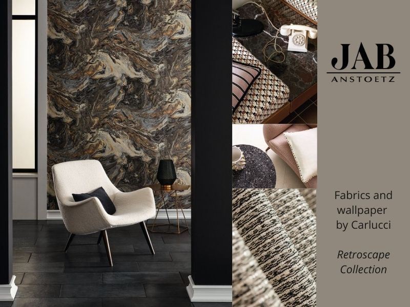 JAB Fabrics and Wallpaper by Carlucci