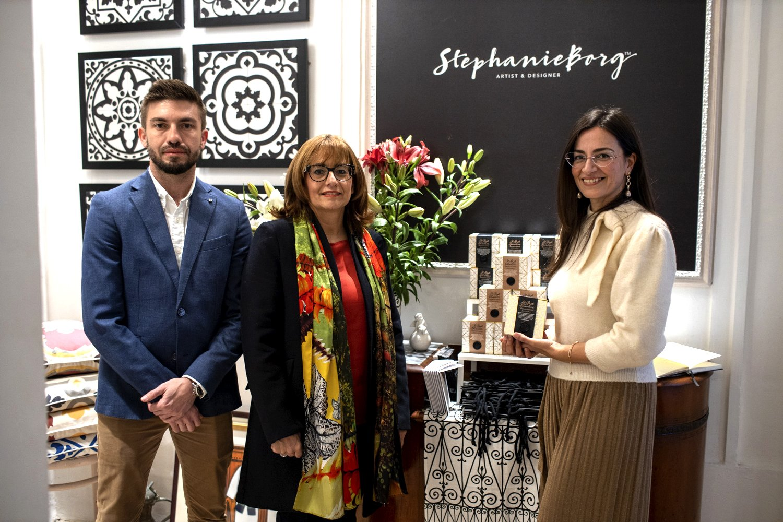 The Launch of Maltese Coffee Brew - Liam Gauci, Dr. Joan Abela & Stephanie Borg,