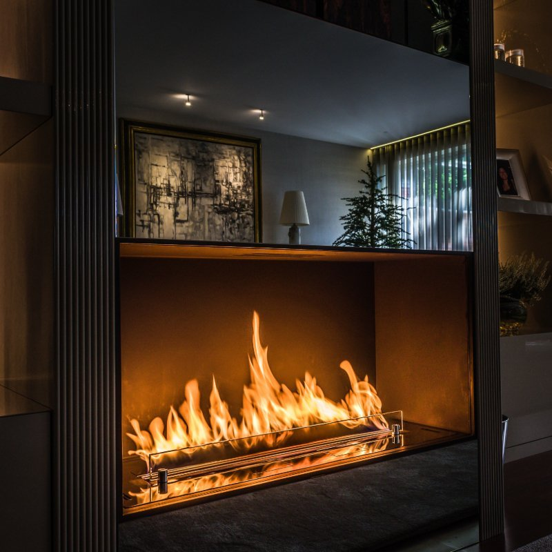Planika Fire Line Automatic 3 Ethanol Fireplaces