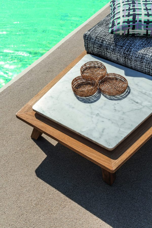 Rafael coffeetable with marbletop