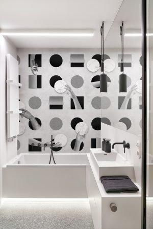 TOUCHE - Black & White - Wall&Deco