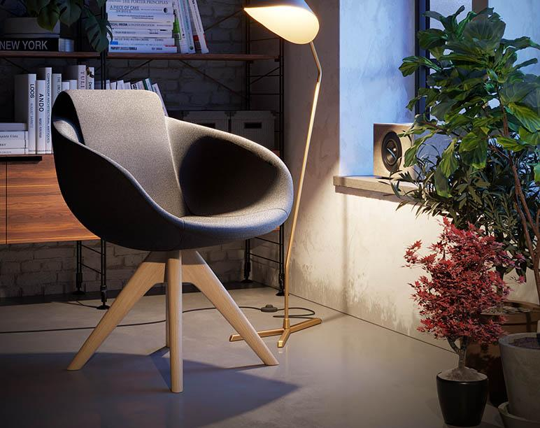 Twist chair by Imperial Line