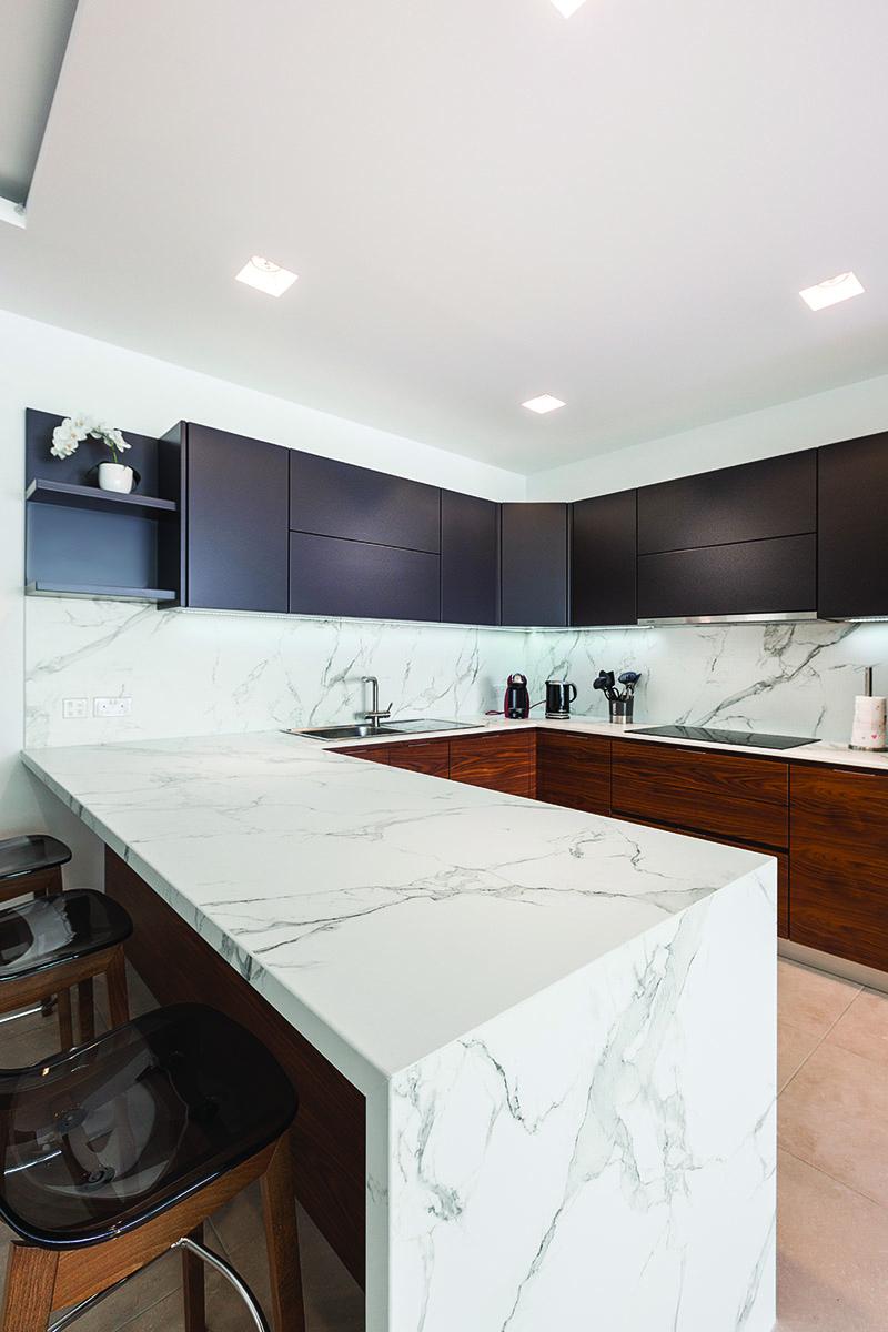 Dekton kitchen top private residence