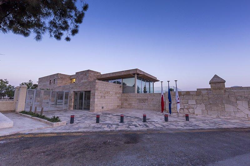 Maltese hardstone cladding BOV House of Four Winds