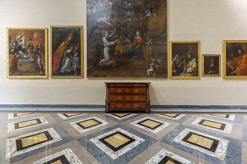 Marble polishing and restoration Mdina Museum