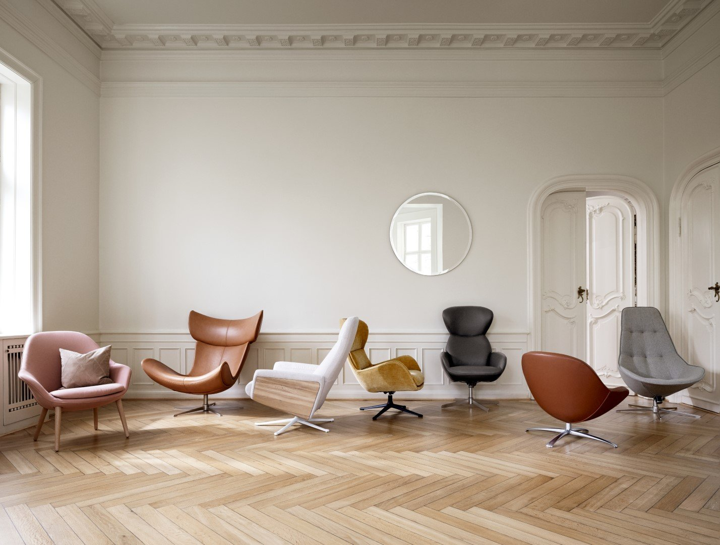 Customisable living chairs