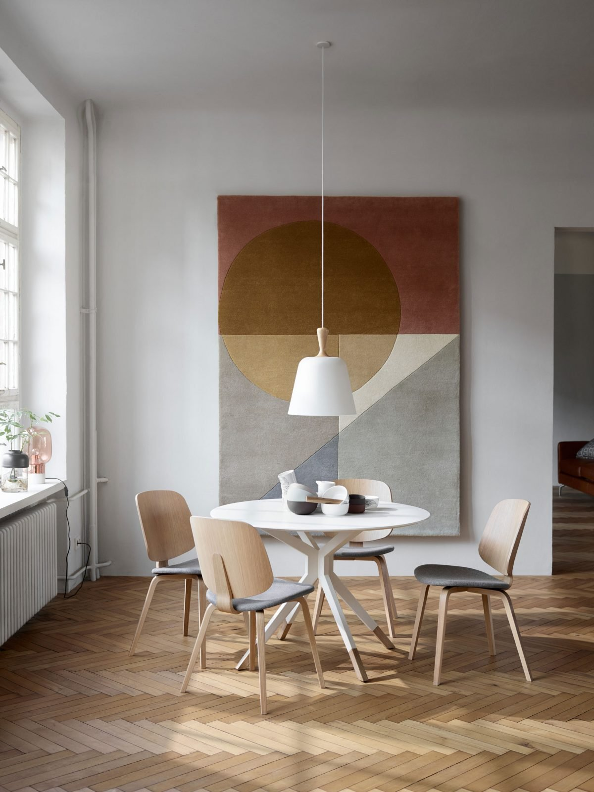 Functional dining for smaller spaces