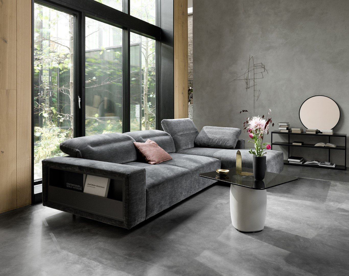 Modular and customisable sofas and living room furniture