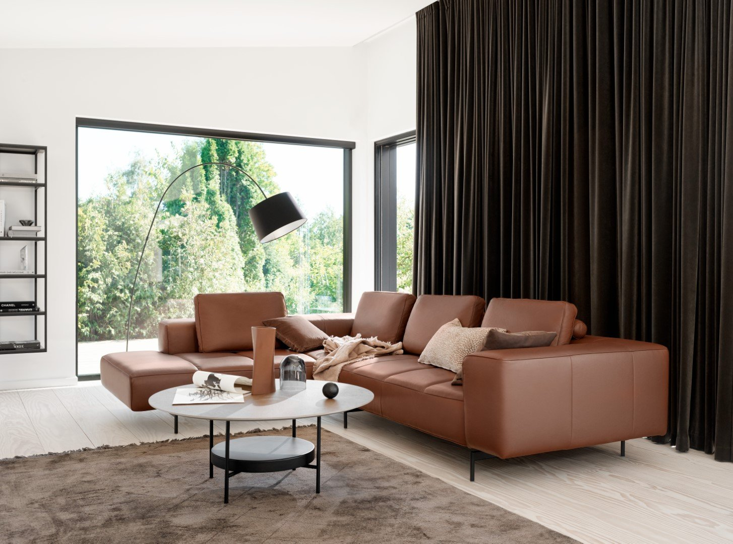 The Amsterdam sofa and Madrid coffee table