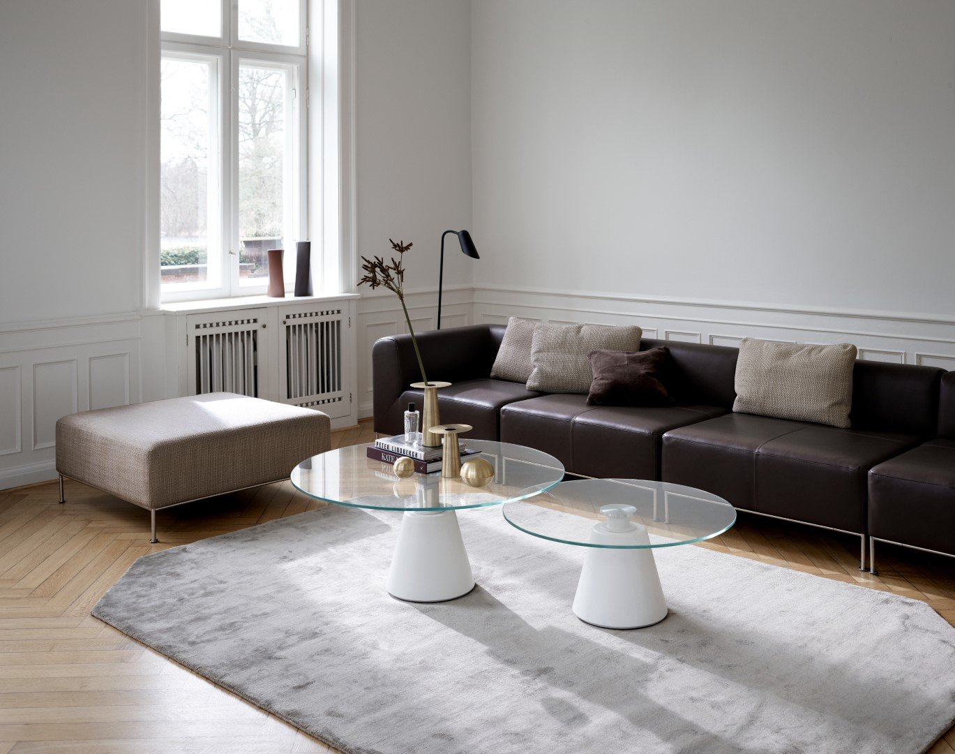 The Miami modular sofa and Madrid tables